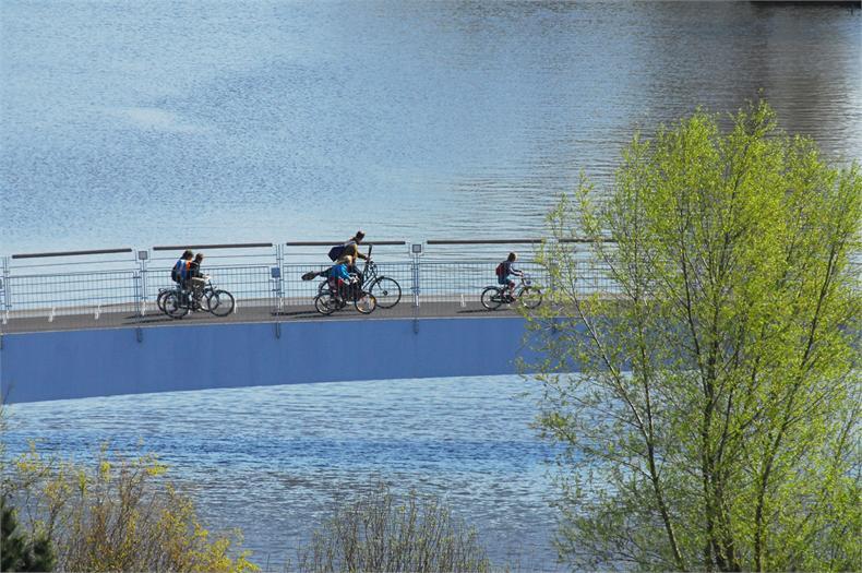 Jan Wils Bridge in Amsterdam ontworpen door architect Rob Lubrecht